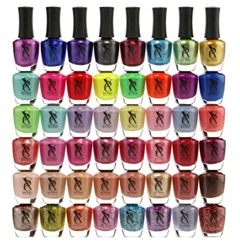 Amazon.com : SXC Cosmetics 48 Awesome Colors Nail Polish Set Lacquer ...