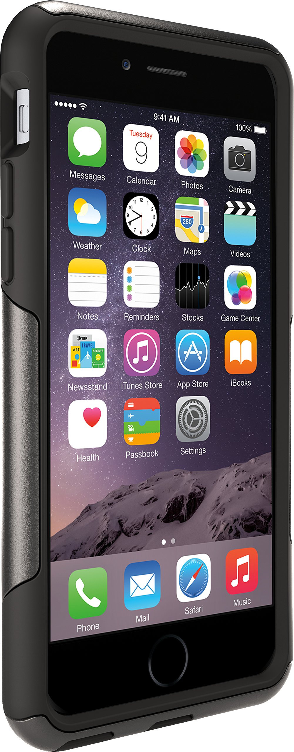 OtterBox Commuter Series iPhone 6/6s Case - Frustration Free Packaging - Black by OtterBox