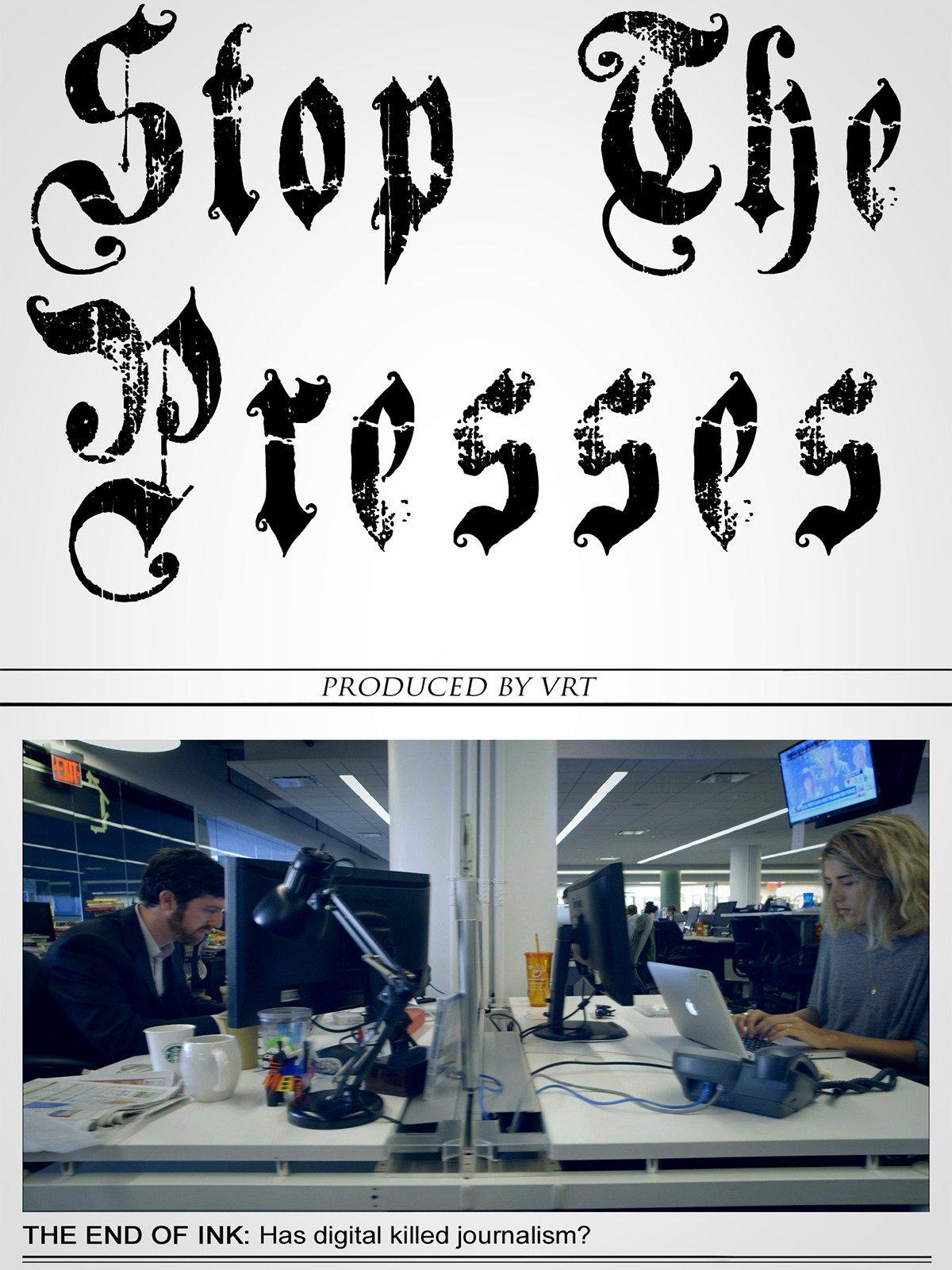 Stop The Presses on Amazon Prime Video UK
