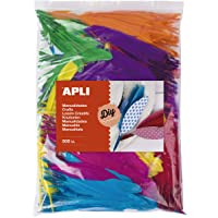 APLI Kids - Plumas indio surtidas 500 uds.