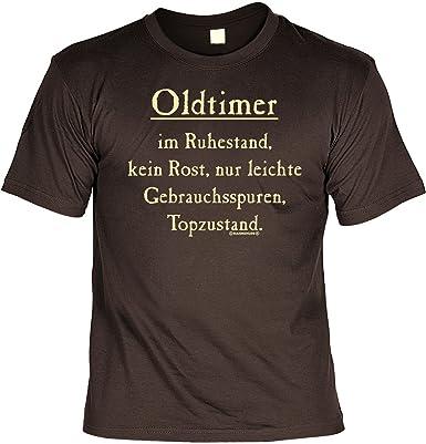 Rentner Spass Fun Shirt Rubrik Lustige Spruche Oldtimer Im Ruhestand