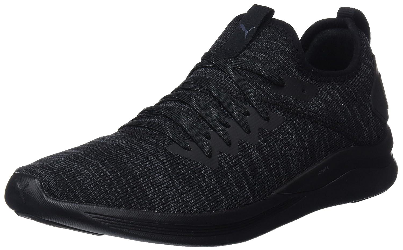 Puma Ignite Flash Evoknit, Zapatillas de Entrenamiento para Hombre 42.5 EU|Negro (Puma Black 05)