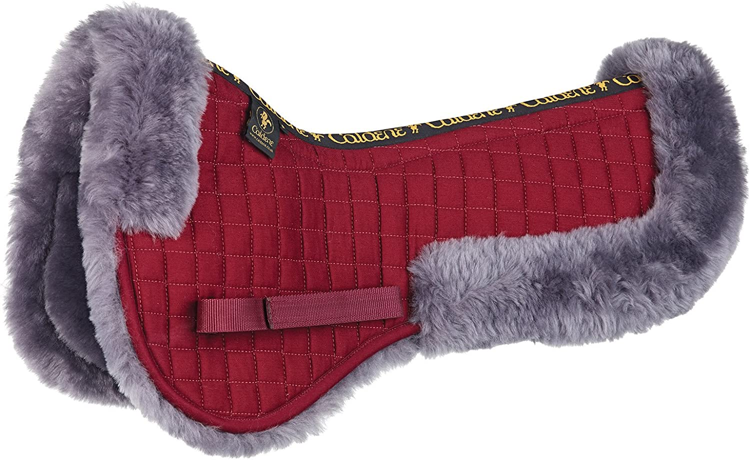 Caldene HKM Horse Riding Dressage General Purpose Competition Eventing Showing Olympics Country Flag Saddle Cloth Numnah