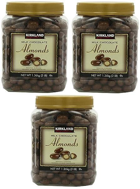 Firmas Chocolate con leche, almendras, 48 Oz