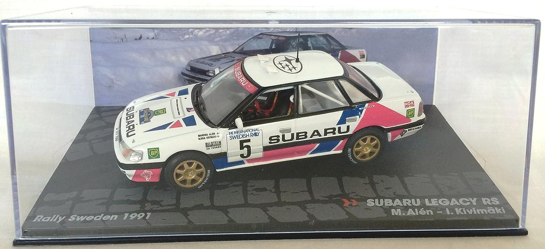 1:43 RALLY COCHE : SUBARU Legacy 4WD Turbo gr 4 1991: Amazon.es: Juguetes y juegos