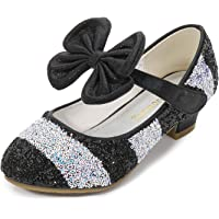 YOSICIL Zapatos Tacón Altos Niña Zapatos de Disfraz Princesa Zapatos de Tango Latino Niña Sandalias de Vestir Navidad…