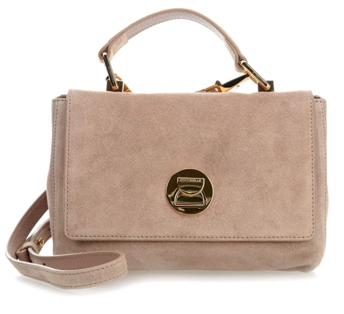 b9e988ad3 Coccinelle Liya Suede Shoulder bag taupe: Amazon.co.uk: Clothing