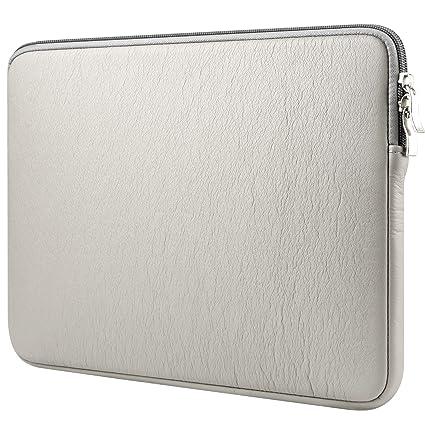 "CCPK 15 inch Laptop Sleeve – Funda para portátil (15 ""bolsa de piel"