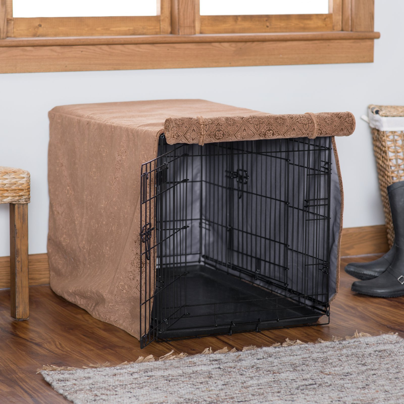 Luxury Crate Cover Size: X-Large (30'' H x 28'' W x 42'' L) by Bowsers (Image #6)