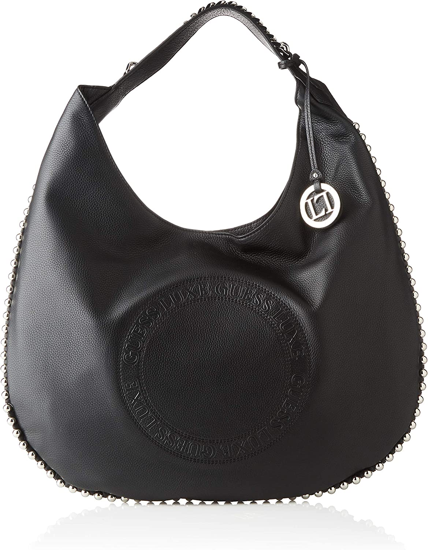 Robyn Large Belt Bag, Borsa a spalla Donna, Nero , 13x14x37 cm