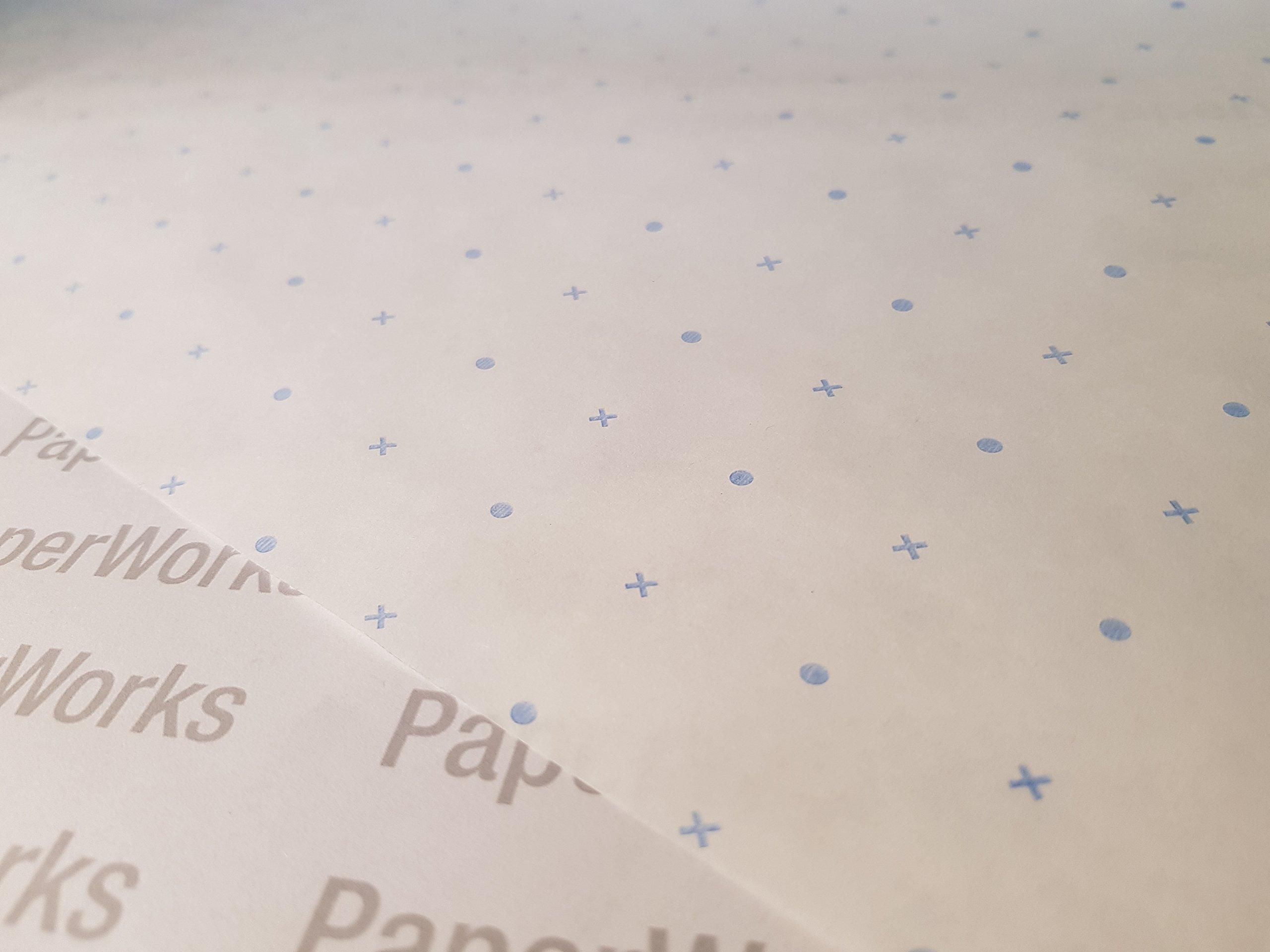 Sewing Pattern Paper Spot Dot Cross for Marking Designs Dressmaking - 20 Meters