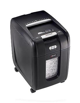 Rexel Auto+ 200X - Destructora con autoalimentación de corte en confeti para oficinas pequeñas (hasta 10 usuarios, papelera de 32 l), color negro: Rexel: ...