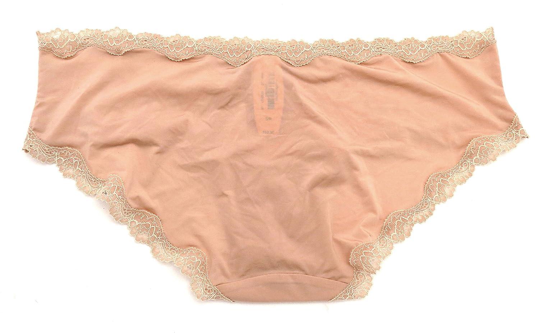 96d5ebf53b Victoria s Secret Dream Angels Lace Trim Hipkini Panty - L - Beige (2RSI)   Amazon.ca  Clothing   Accessories