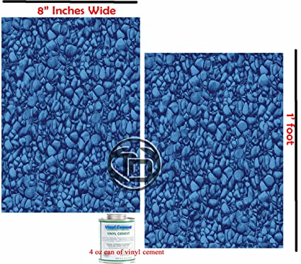 Vinyl Liner Swimming Pool Patch Kit (2) 8\