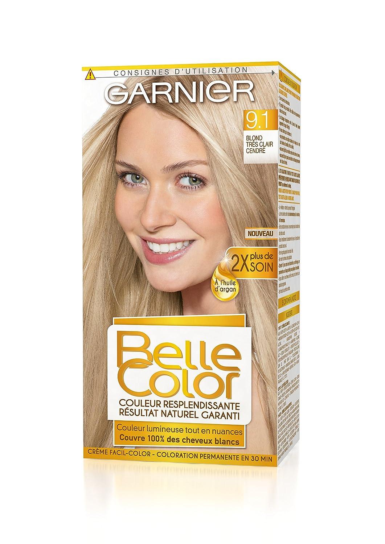 Exceptionnel Garnier - Belle Color - Coloration permanente Blond - 9.1 Blond  TP02