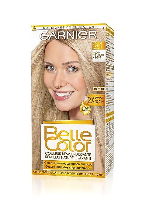 Coloration cheveux blonds naturels
