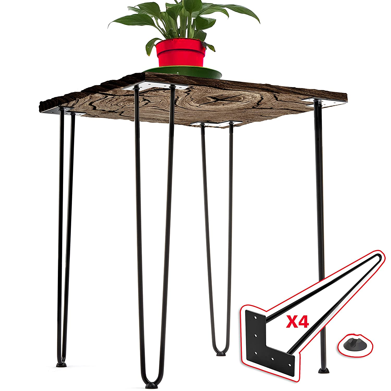 16 Inches Chairs and Home DIY Projects Interesthing Home Hairpin Legs for Coffee and End Tables