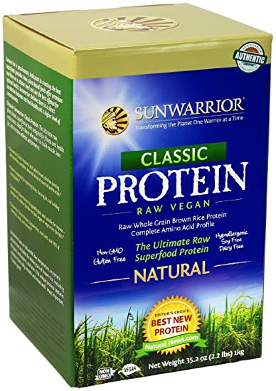 Amazon.com: Sol Warrior polvo de proteína, sabor natural ...