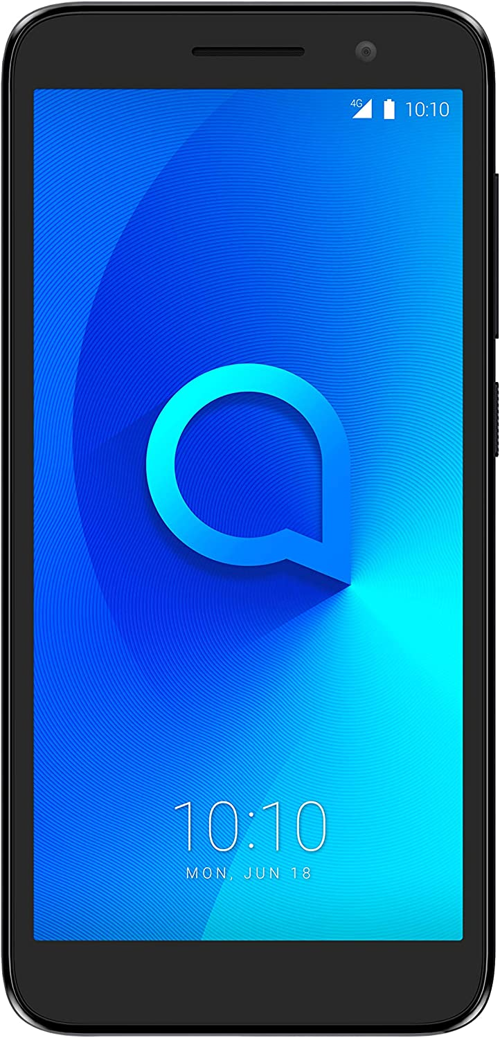 Alcatel 5033D 1 2019, Smartphone, Wi-Fi 802.11 b/g/n, Bluetooth 4.2, Android, Negro