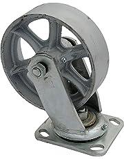 """Vestil SS-6/2-S Steel Swivel Caster, 1200 fl oz Capacity, 2"""" Width, 7.50"""" Height, 6"""" Length"""