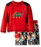 Skechers Toddler Boys' Swimsuit Bathing Suit Set