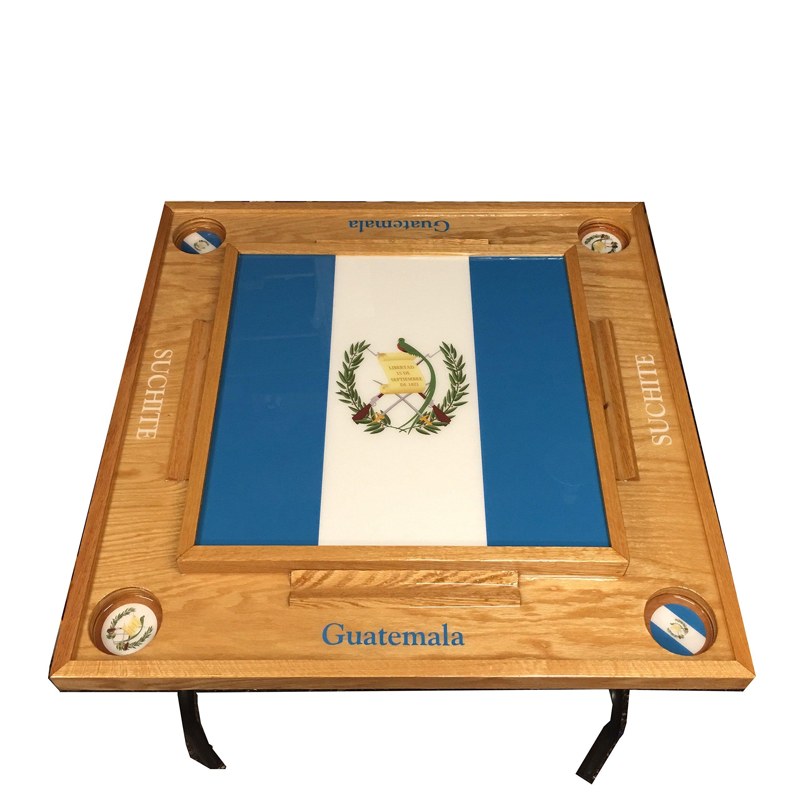 Guatemala Domino Table full Flag
