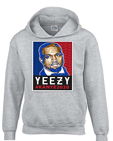 3aae2b112a64f Amazon.com: Hot Ass Tees Adult Unisex Yeezy Kanye For President 2020 ...