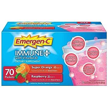 emergen-c + Sistema de Apoyo Inmunológico Suplemento ...