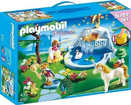 Amazon.com: Playmobil Super Set Dream Garden: Toys & Games