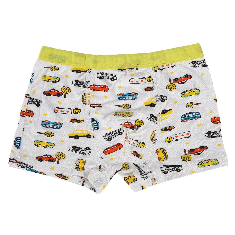 Bala Bala Boy's Boxer Brief Multicolor Underwear (Pack Of 5) (M/Car Underwear, (Pack Of 5)/Car Underwear) by Bala Bala (Image #7)