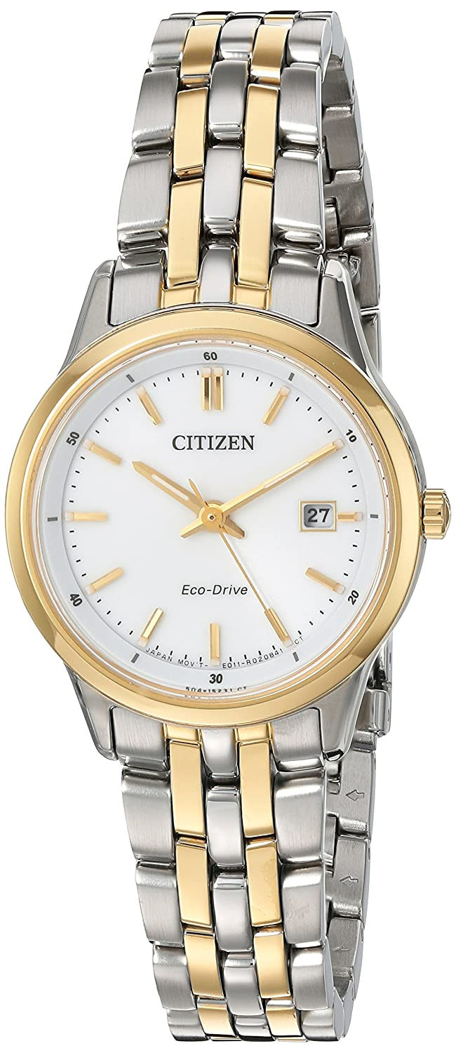 Amazon.com  Citizen Women s  Eco-Drive Bracelet  Quartz Stainless Steel  Watch 001b9f533ae9