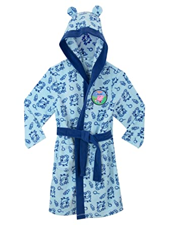 Peppa Pig Boys George Pig Dressing Gown Age 3-4 Years: Amazon.co.uk ...