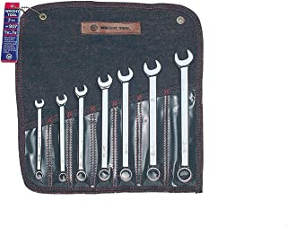 """product image for Wright Tool 907 Full Polish 12 Point Combination Wrench Set 3/8"""" - 3/4"""" (7-Piece)"""