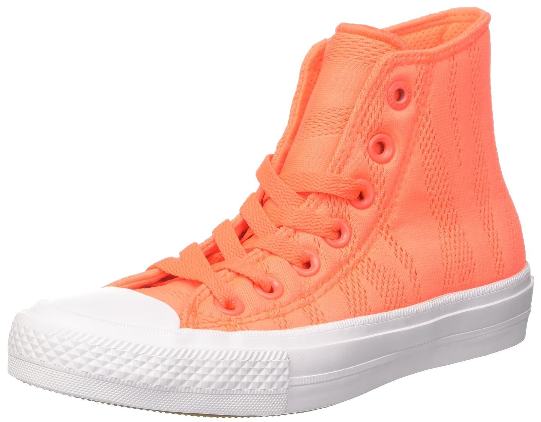 Converse CTAS II Hi, Sneakers Unisex Adulto 37.5 EU Naranja (Hyper Orange/White/Gum)