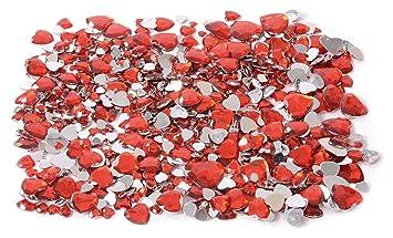 Eduplay 200122 Piedra Preciosa Diseño De Corazones Color Rojo