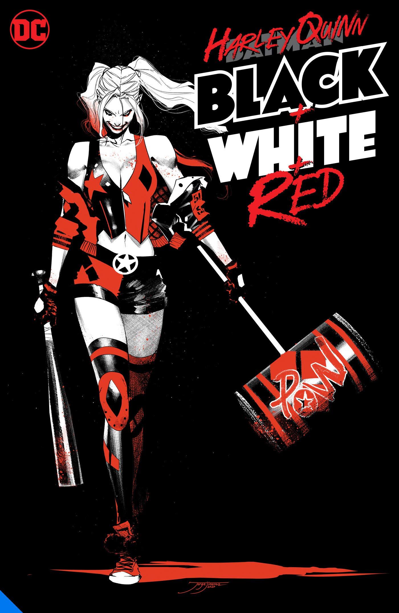 Amazon.fr - Harley Quinn Black + White + Red - Various, Various - Livres