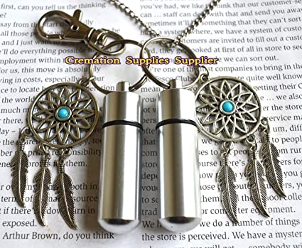 Amazon Dream Catcher Urn Necklace And Keychain Jewelry Dream Magnificent Dream Catcher Necklace Meaning