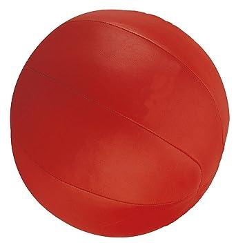 Bay® Piel 5 kilos Balón Medicinal, Rojo Calidad Profesional ...