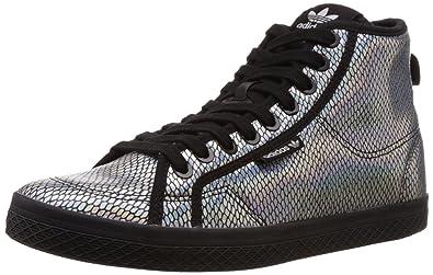 save off 630b6 95367 adidas Women s Originals-Honey Mid W Argent-Noir m20775 Size  6