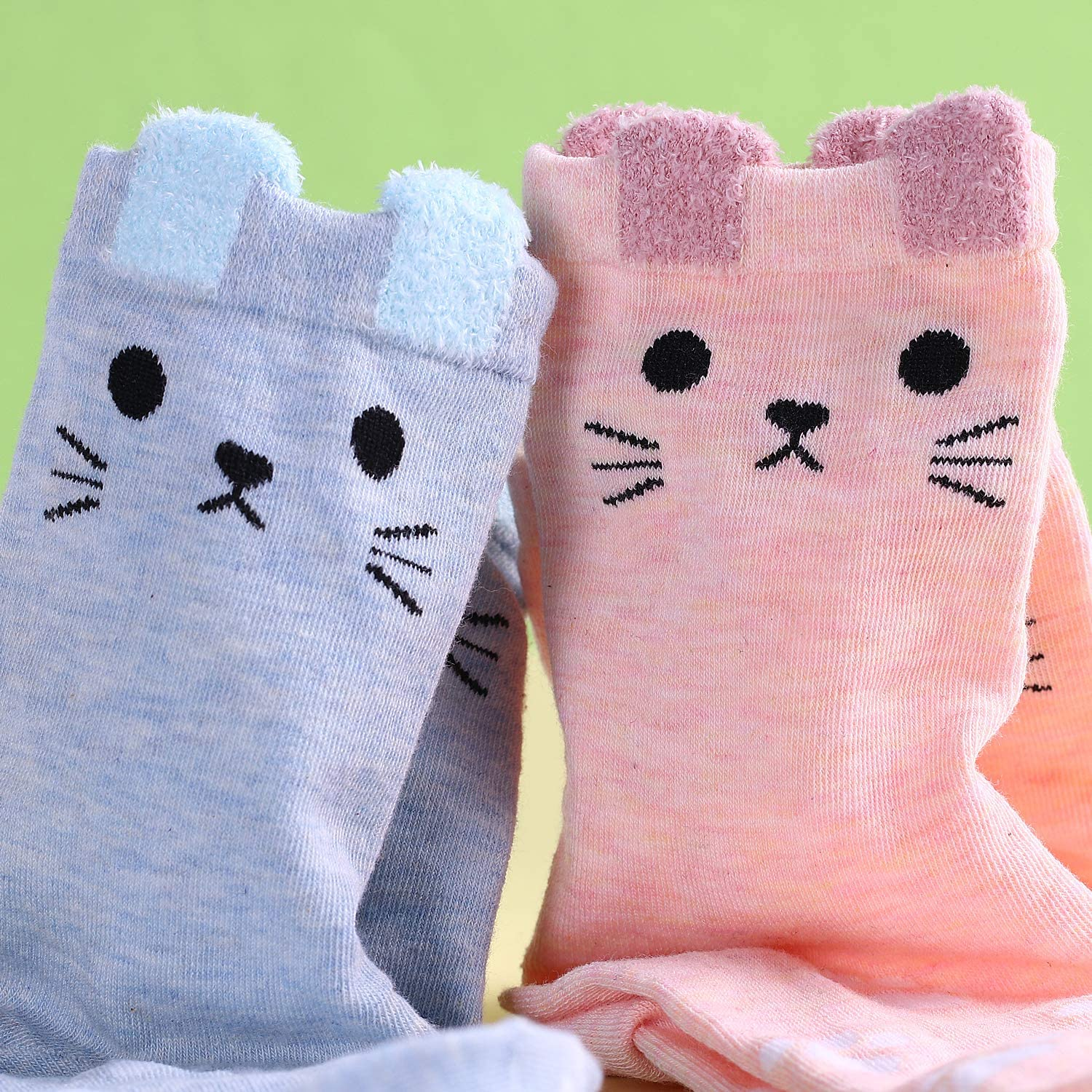 Jeasona Socks for Women Pack Cotton Funny Cute Animal Gifts for Women