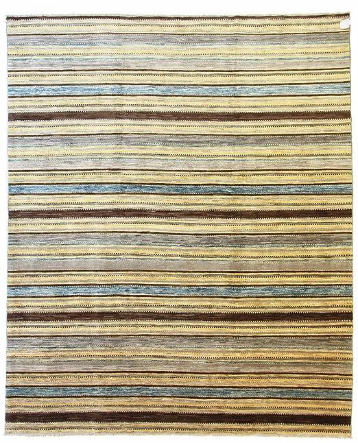 Ziegler Gabbeh Teppich Orientteppich 299x245 Cm Pakistan