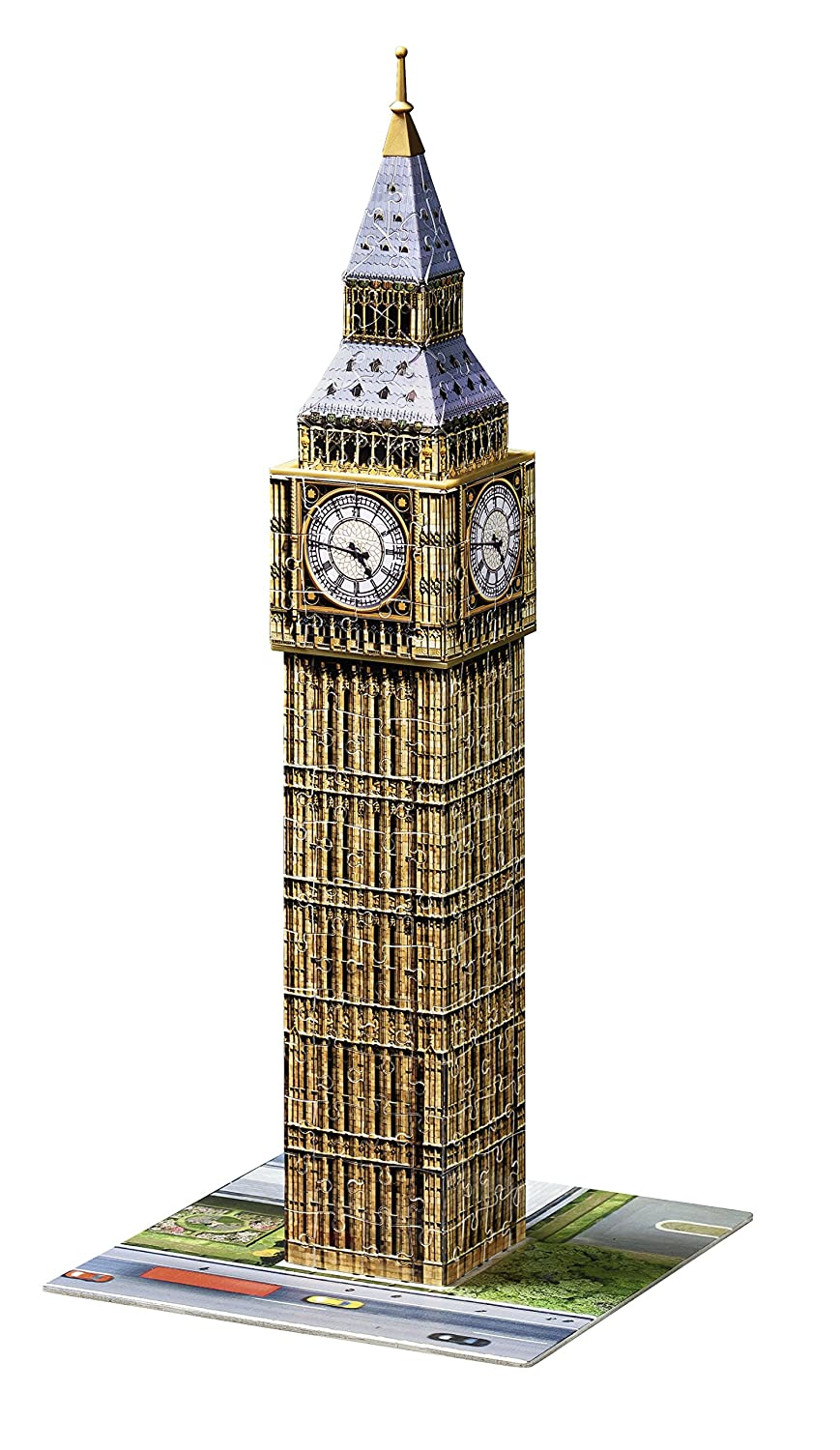 Ravensburger Big Ben 216 Piece 3D Jigsaw Puzzle for Kids and Adults - Easy Click Technology Means Pieces Fit Together Perfectly Varios Ravensburger Spielverlag 12554