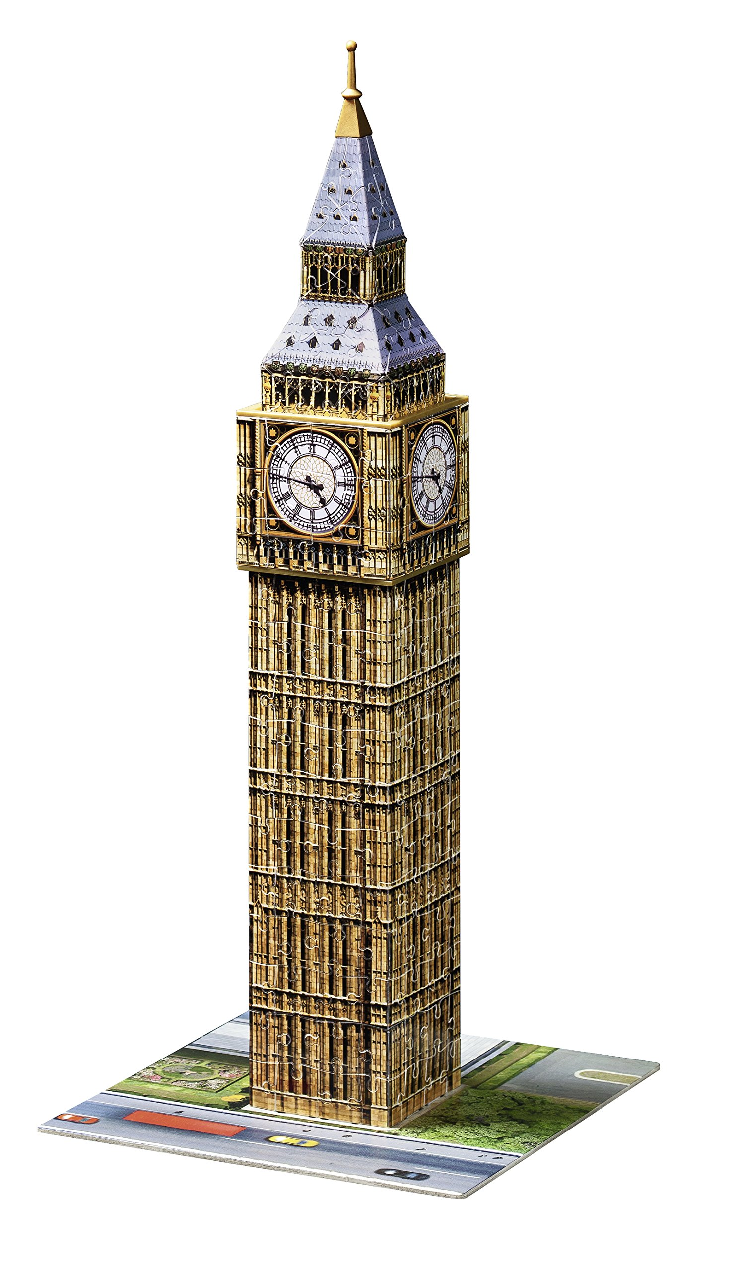 Ravensburger Big Ben 216 Piece 3D Jigsaw Puzzle for Kids and Adults - Easy Click Technology Means Pieces Fit Together Perfectly