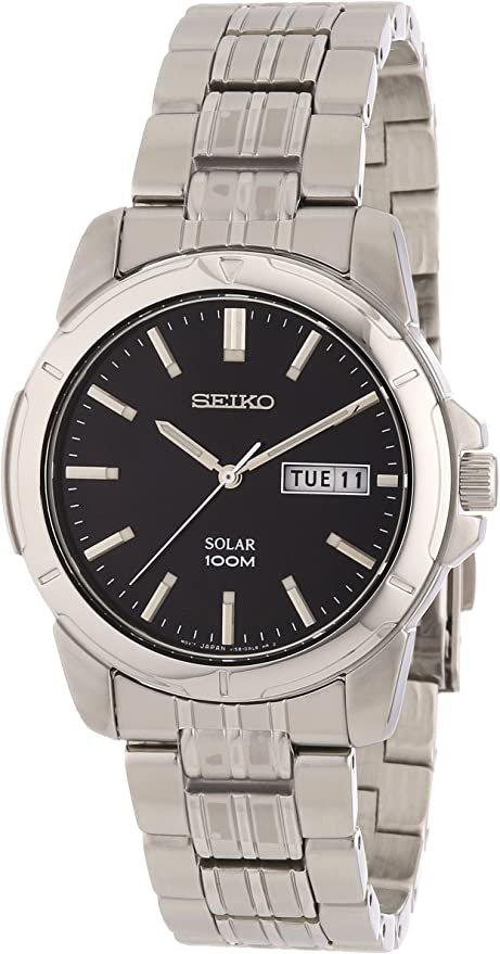 セイコー SEIKO ソーラー 腕時計 SNE093 メンズ [ 並行輸入品 ]