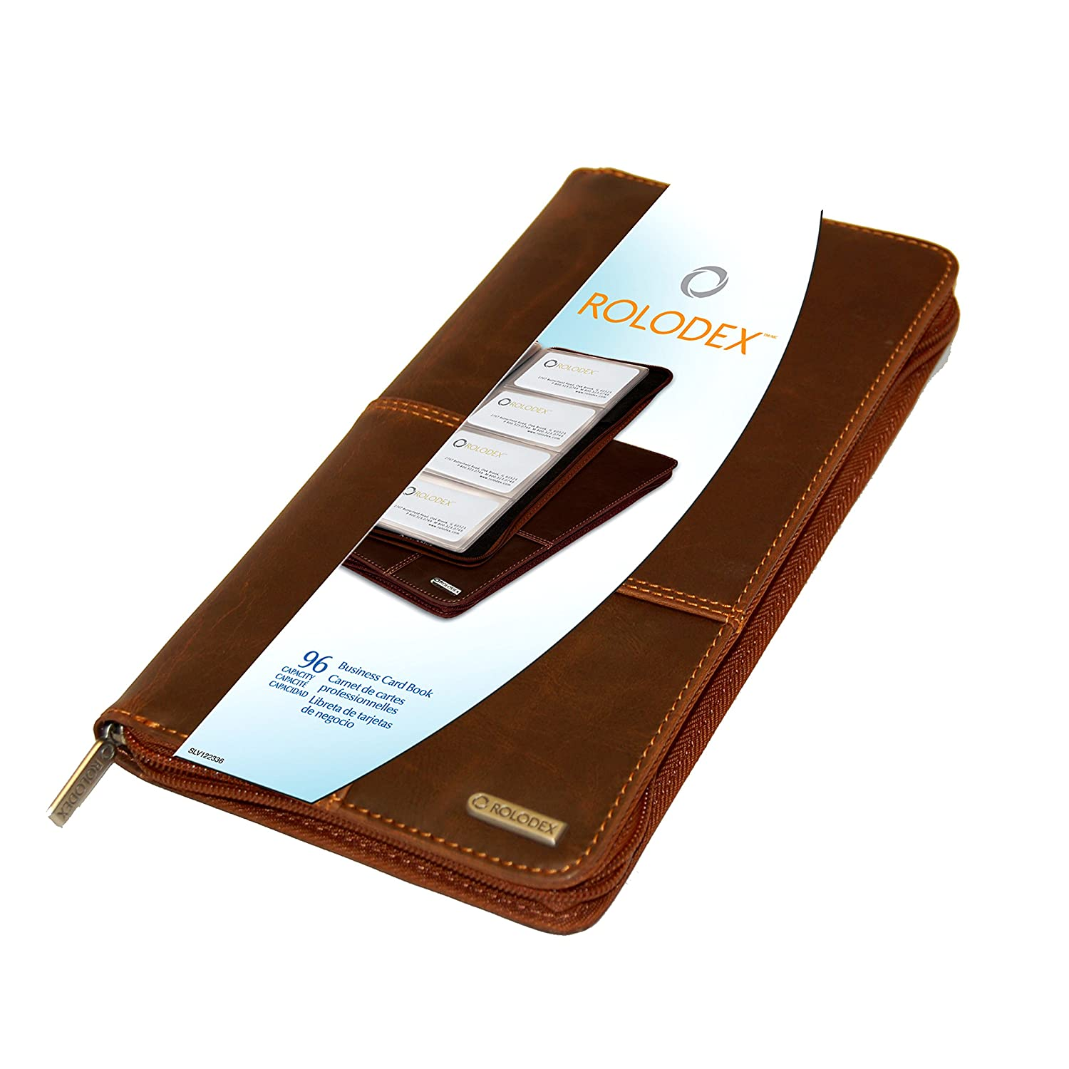Amazon rolodex explorer collection business card book 96 amazon rolodex explorer collection business card book 96 card brown 22336 business card holders office products magicingreecefo Image collections