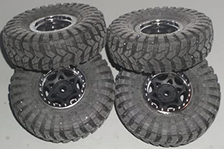 Axial SCX10 Jeep Wrangler Tires And Wheels (4)