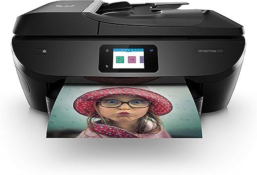 HP ENVY PHOTO 7830 All-in-One, Draadloze Wifi kleuren inktjet printer voor thuis (Printen, faxen, scannen, kopiëren) Inclusief 4 maanden Instant Ink
