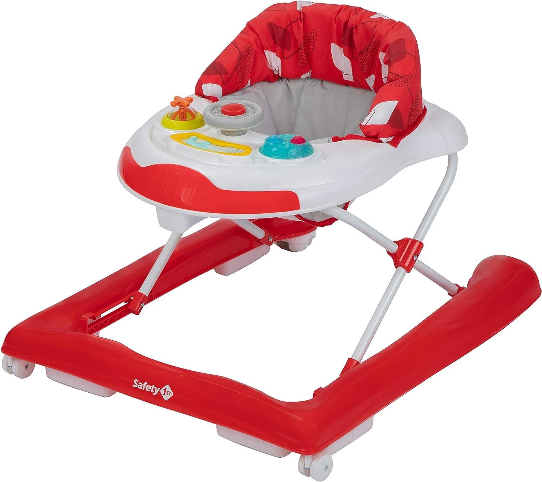 Safety 1st Bolid Andador bebe primeros pasos . Rojo
