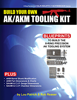 Amazon build your own ak vol ii building the parts kit build your own akakm tooling kit x ring precision llc gunsmith notebook fandeluxe Images
