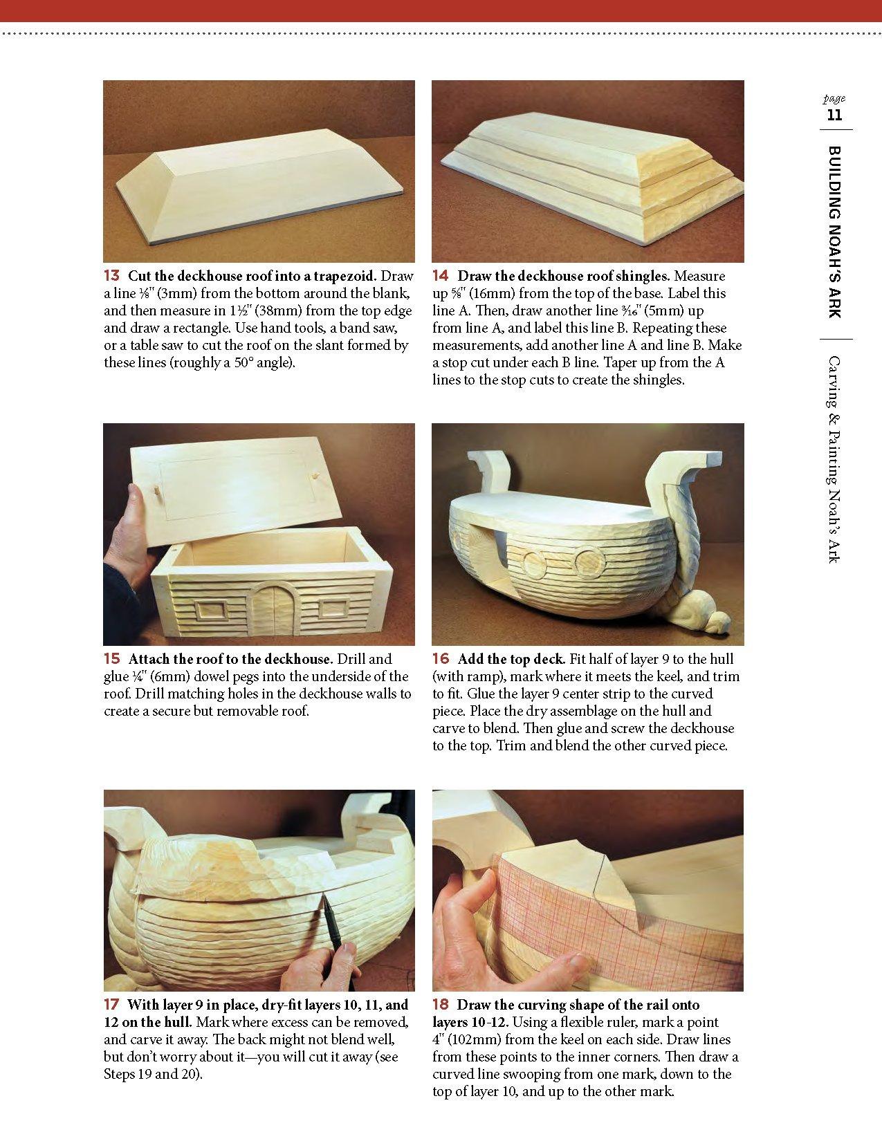 Carving & Painting Noah's Ark: Easy-Build Ark Plans Plus